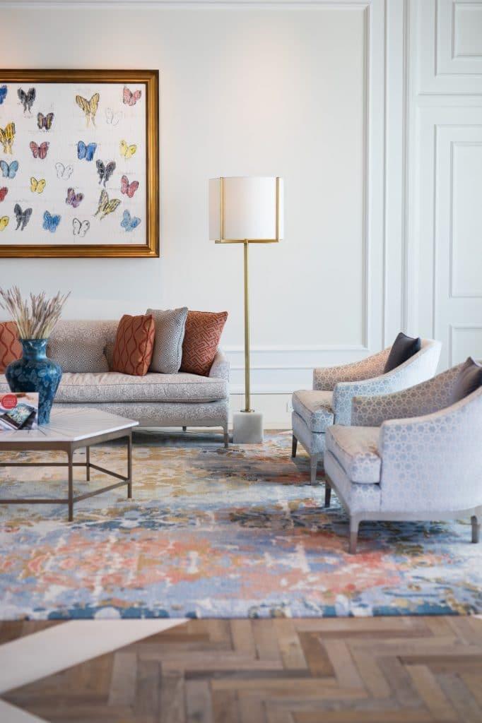 Elegant lounge room