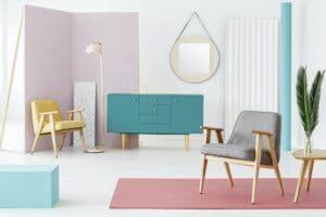Furniture composition and color scheme